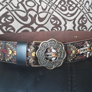 Lucky Brand designer hippie Festival belt medium